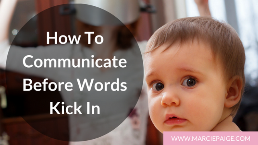 How to communicate with your baby before words kick in