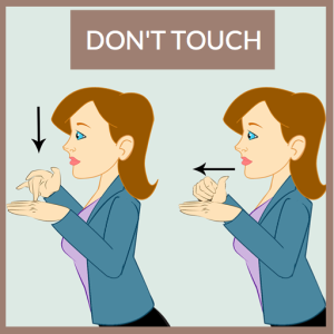 ASL Sign for DONT TOUCH - Baby sign language with Marcie Paige