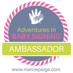 Adventures In Baby Signing, ambassador