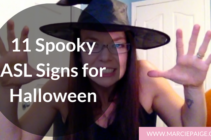 11 Spooky ASL Signs for Halloween