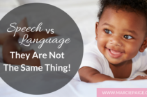 Speech vs Language – Not The Same Thing!