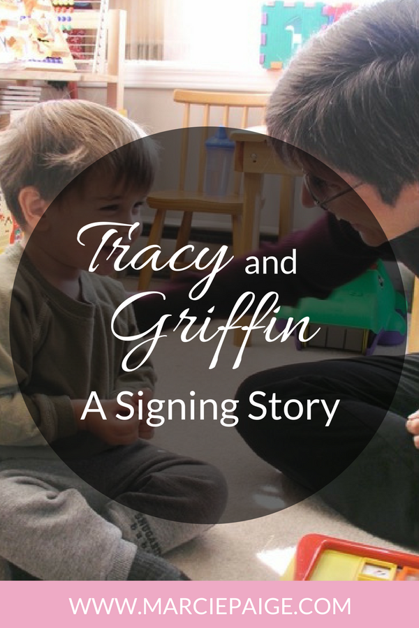 Thanks to signing our sons 'twos' were anything but terrible! 