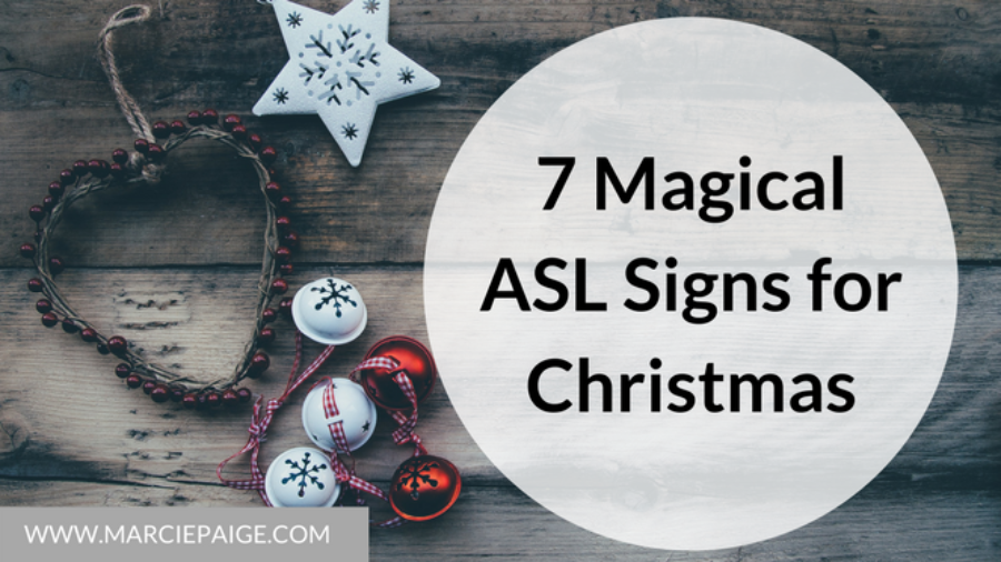 ASL Signs for Christmas