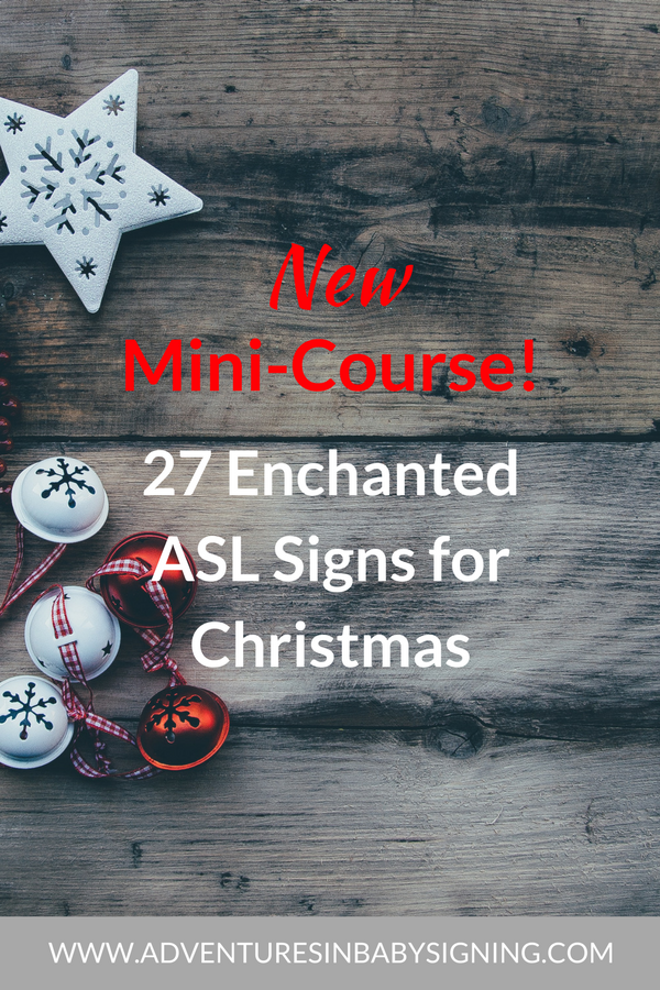 ASL Signs for Christmas, sign language for kids