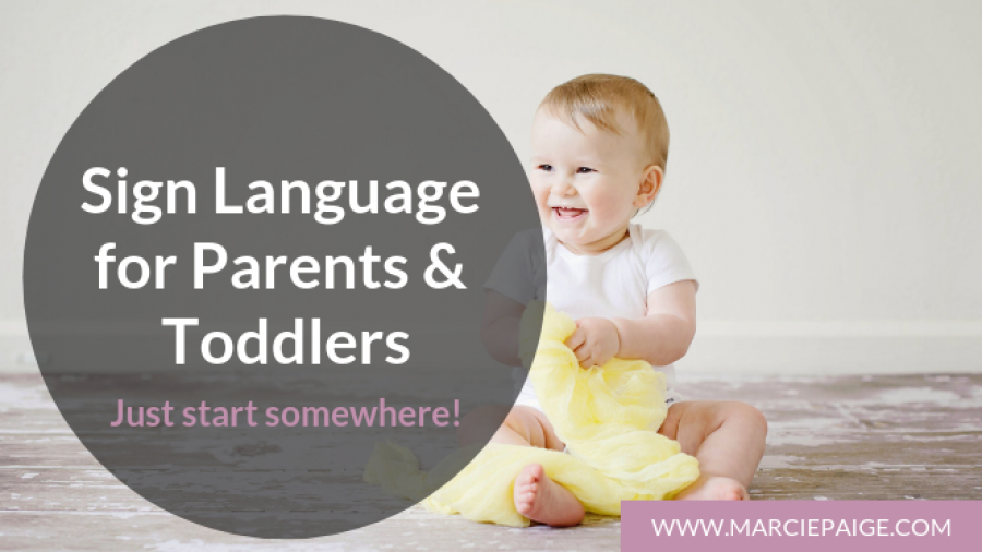 Baby Sign Language Story - Erika Jones Blog Graphic